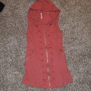 Zip up dress